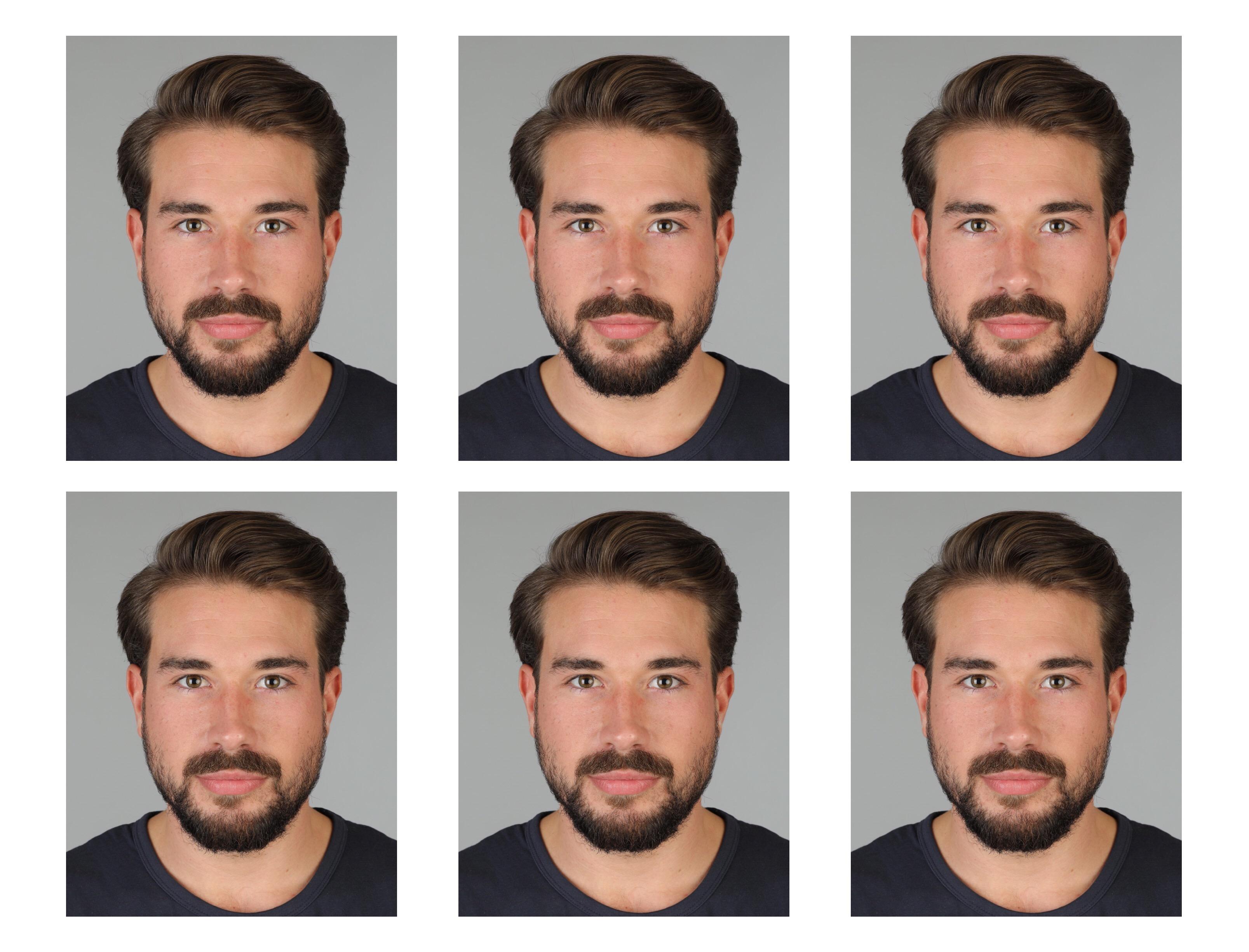 Passfotos Passbilder biometrisch