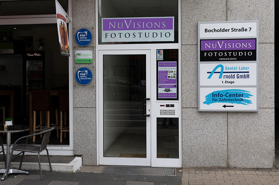 Fotostudio Eingang
