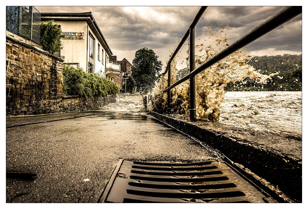 Sturmflut 2021 in Essen