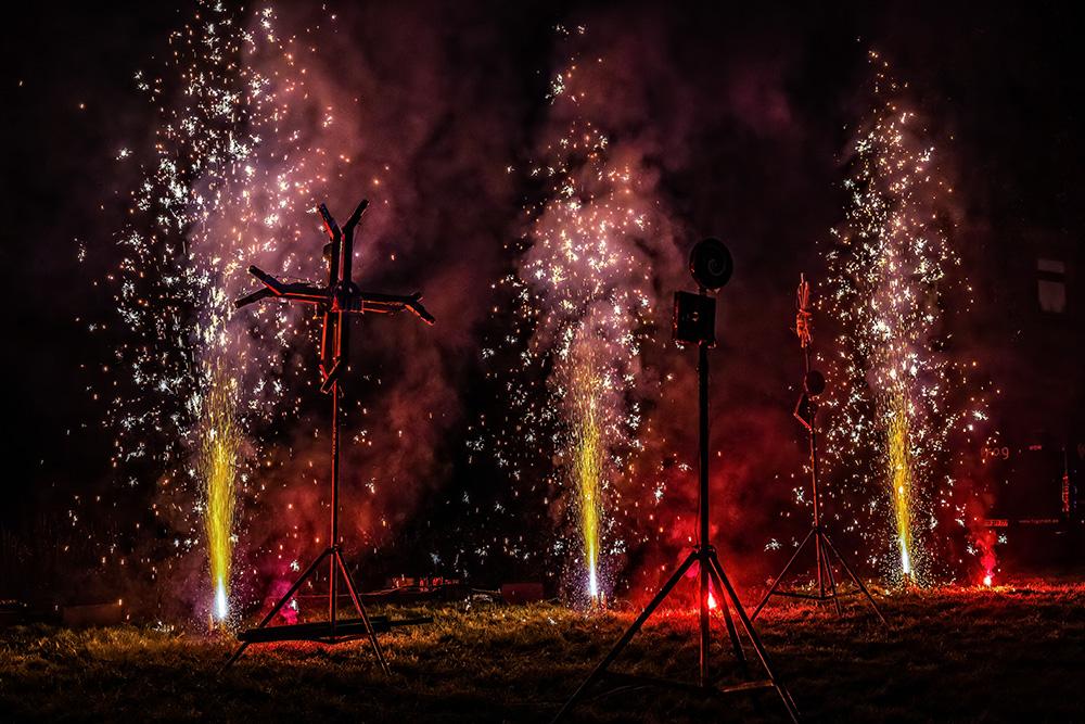 Feuershow Sascha Tietze